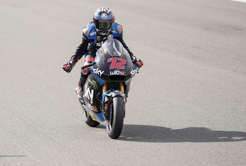 Marco Bezzecchi en el GP de Europa / foto: twitter.com/SkyRacingTeam
