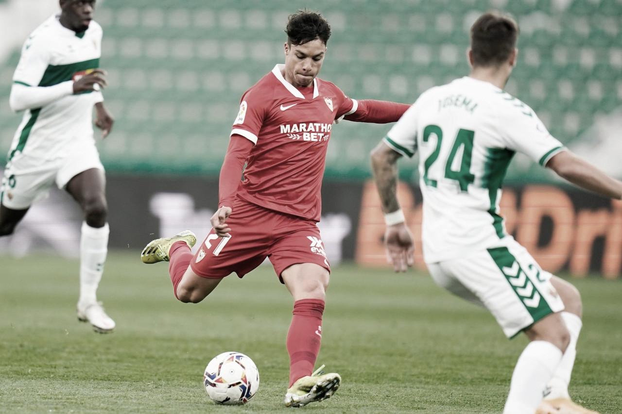 Resumen Sevilla FC 2 - 0 Elche CF en LaLiga 2021