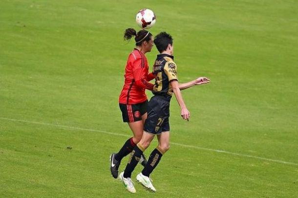 "Se impone el ""Tri""Femenil contra la Sub-15 varonil de Pumas"