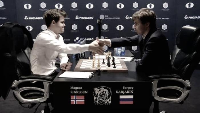 Carlsen-Karjakin: la calma antes de la tempestad
