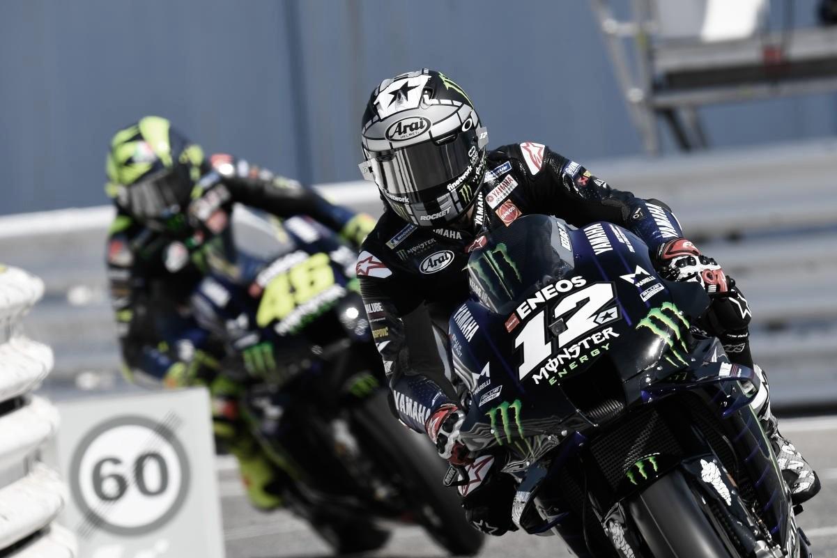 Clasificación GP de San Marino 2020: dictadura de las Yamaha y récord de pista