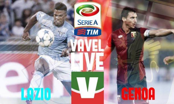 Risultato finale Lazio - Genoa 2-0, risultato della partita di Serie A 2015/2016