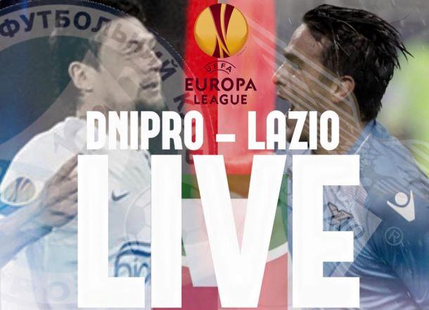Risultato finale Dnipro - Lazio 1-1, partita Europa League 2015/16
