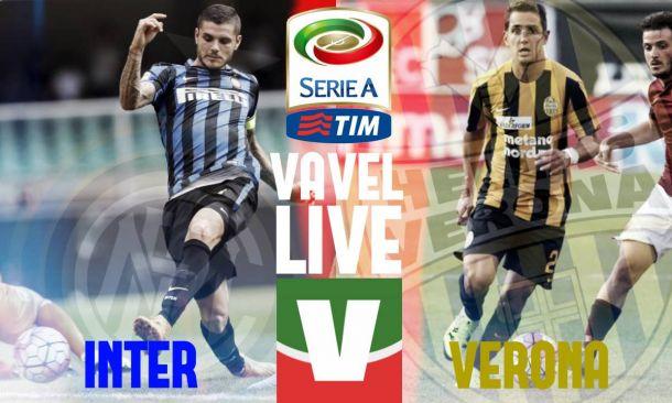 Risultato Inter - Verona Serie A 2015/2016 (1-0)