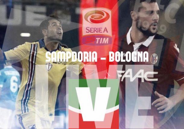 Risultato Sampdoria - Bologna di Serie A 2015/16: Eder e Soriano fanno grandi i blucerchiati, è 2-0