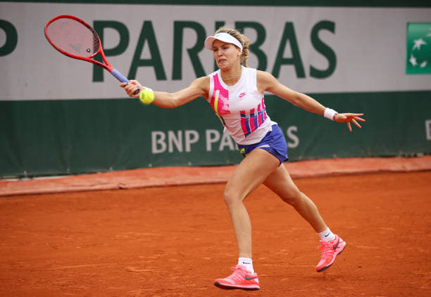 French Open: Eugenie Bouchard gets through Daria Gavrilova