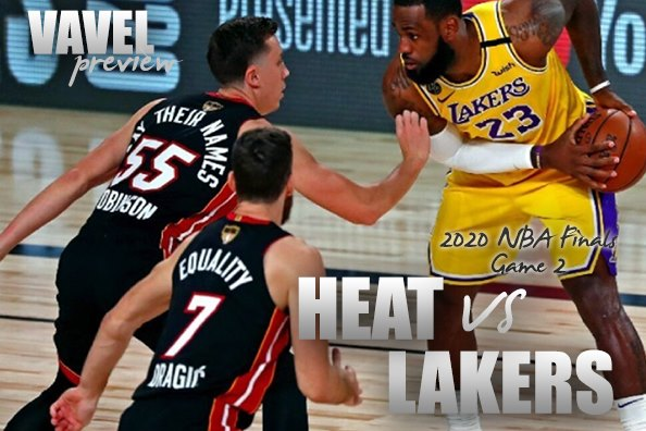 Game 2 Preview: 2020 NBA Finals