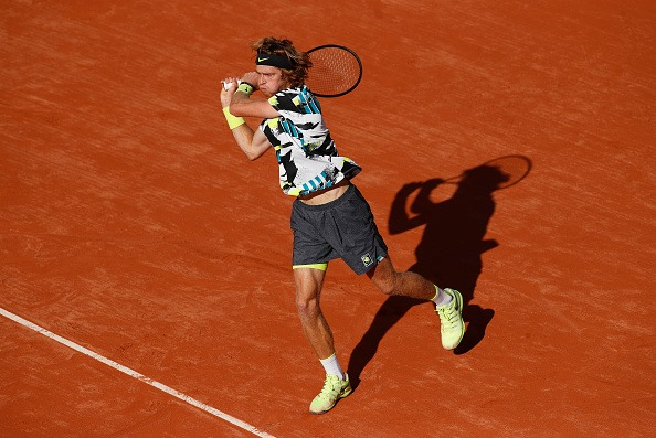 Roland Garros: Andrey Rublev Cruises past Kevin Anderson