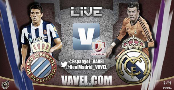 Diretta Espanyol - Real Madrid in Coppa del Re