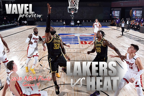 Game 4 Preview: 2020 NBA Finals