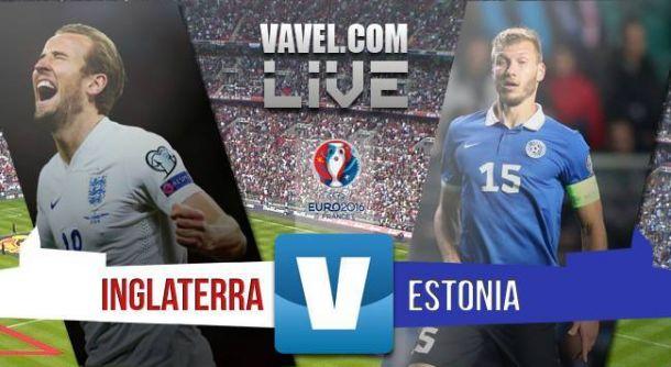Resultado Inglaterra vs Estonia 2015 (2-0)