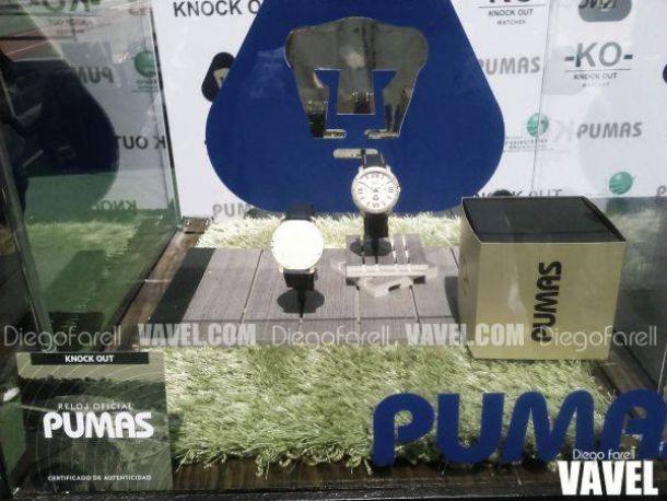 Pumas presentó reloj conmemorativo