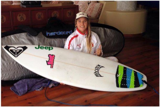 Surf: Melanie Giunta queda eliminada del ISA Junior