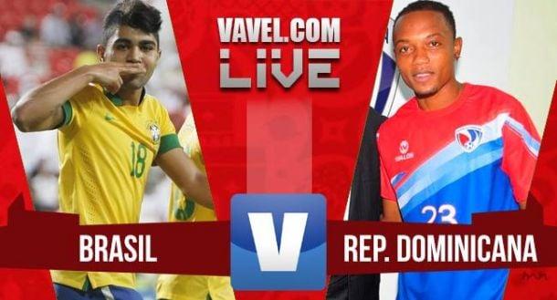 Resultado Brasil x República Dominicana pelo Amistoso Pré-Olímpico (6-0)