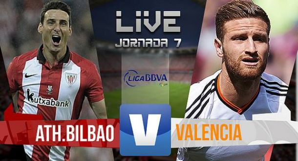 Resultado Athletic de Bilbao vs Valencia CF (3-1)