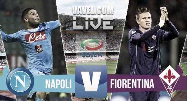 Resultado Nápoles - Fiorentina en la Serie A 2015 (2-1)
