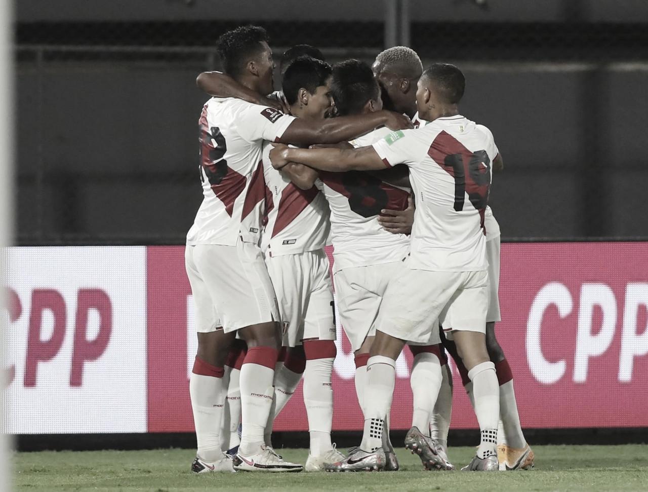 Paraguay 2-2 Perú: la blanquirroja sumó un punto en el inicio de la Clasificación Sudamericana 2022