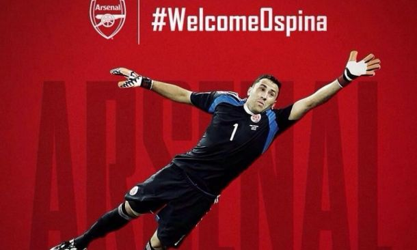 Ospina è il nuovo portiere dell'Arsenal