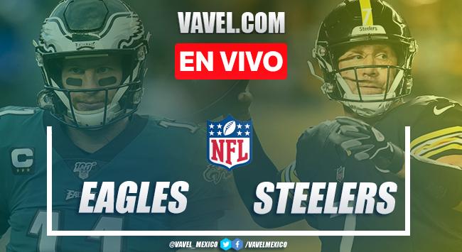 Resumen y Touchdowns: Philadelphia Eagles 29 - 38 Pittsburgh Steelers en NFL 2020 Semana 5