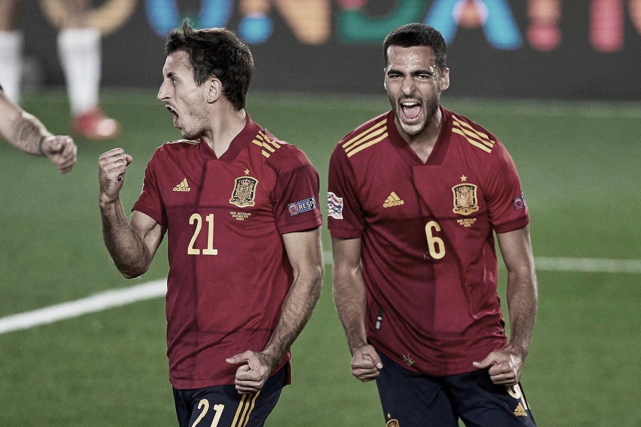 España se ha enfrentado seis veces ante Ucrania , acumula cinco victorias y un empate | Fotografía: UEFA