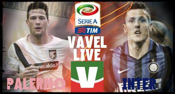 Risultato finale Palermo - Inter (1-1): Gilardino risponde a Perisic