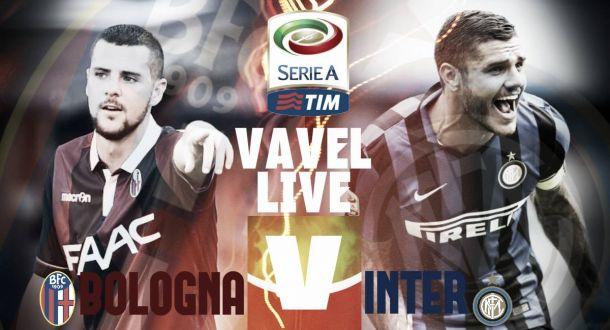 Rivivi la partita Bologna - Inter 0-1 di Serie A