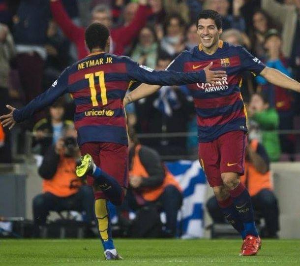 Neymar - Suarez: Il Barcellona demolisce il Villarreal