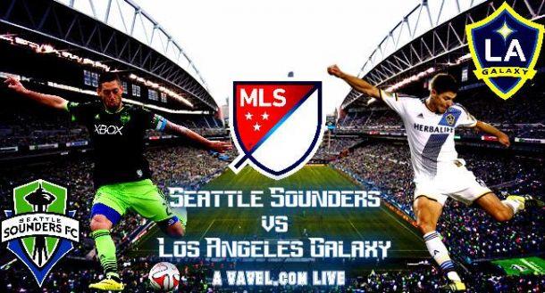 ScoreSeattle Sounders - LA Galaxy in 2015 MLS Playoffs (3-2)