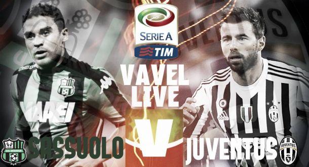 Sassuolo-Juventus (1-0), risultato Serie A 2015/16