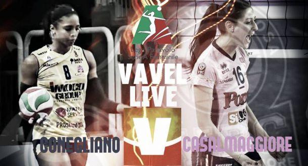 Risultato Imoco Volley Conegliano - Pomì Casalmaggiore (3-2), serie A1 di volley femminile 2015/2016