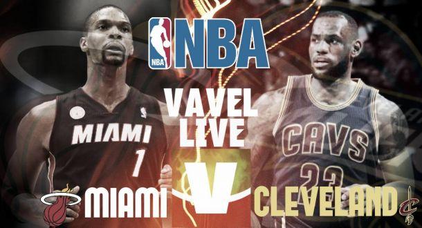 Rivivi la gara di NBA Cleveland Cavaliers - Miami Heat 102 - 92