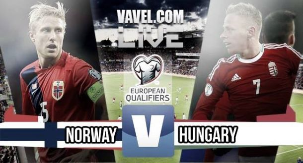 Score Norway - Hungary in Euro2016 Qualifying (0-1)