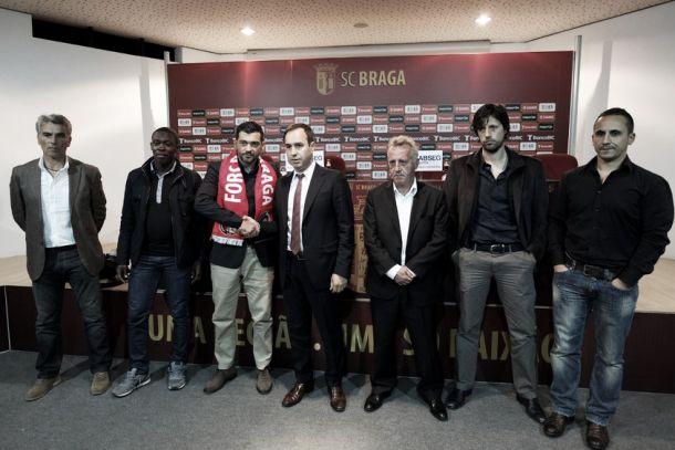 Braga apresenta Sérgio Conceição, novo treinador
