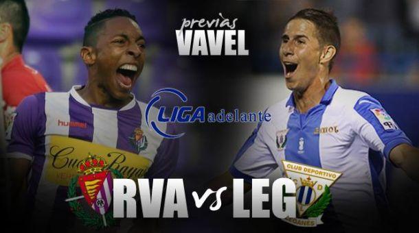 Real Valladolid - C.D. Leganés: el Pucela busca una victoria que confirme la reacción