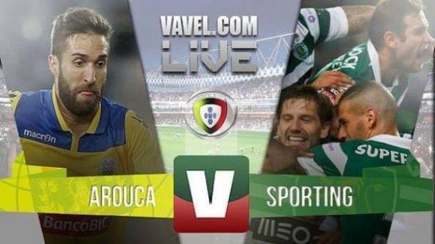 Resultado FC Arouca vs Sporting CP en la Liga NOS 2015: en el último suspiro (0-1)