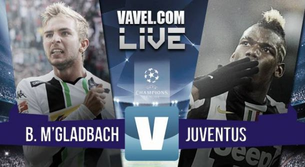 Risultato Borussia Moenchengladbach - Juventus, Champions League 2015/2016 (1-1)