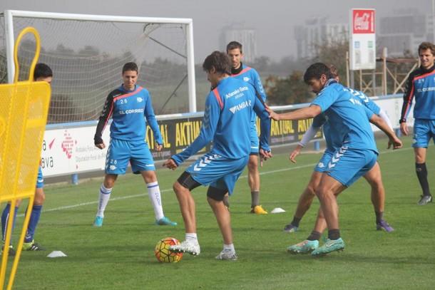 El Alavés empieza a preparar la visita al José Zorrilla