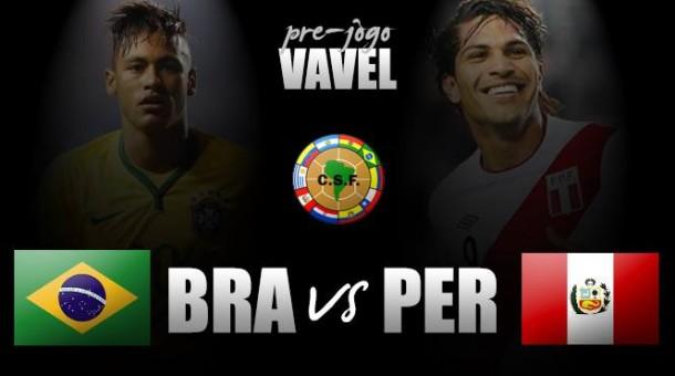 Brasil enfrenta Peru para se manter entre os melhores nas Eliminatórias