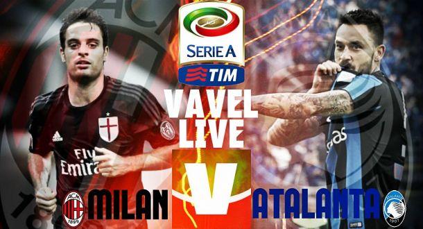 Live Milan - Atalanta in Serie A 2015/16 (0-0)