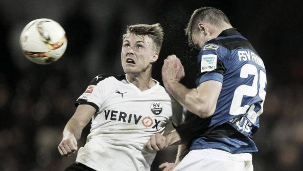 FSV Frankfurt 0-1 SV Sandhausen: Luck finally goes in the visitors' favour as they return to winning ways