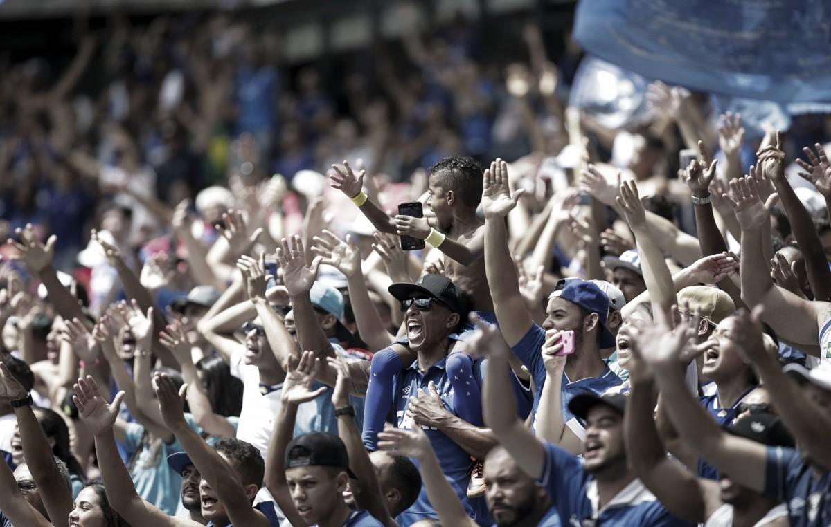 Torcida do Cruzeiro chega perto, mas não bate seu recorde de público do Brasil na temporada