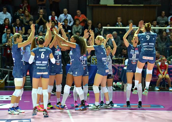 Volley A1 femminile: Conegliano prende il largo, Casalmaggiore torna all'inseguimento