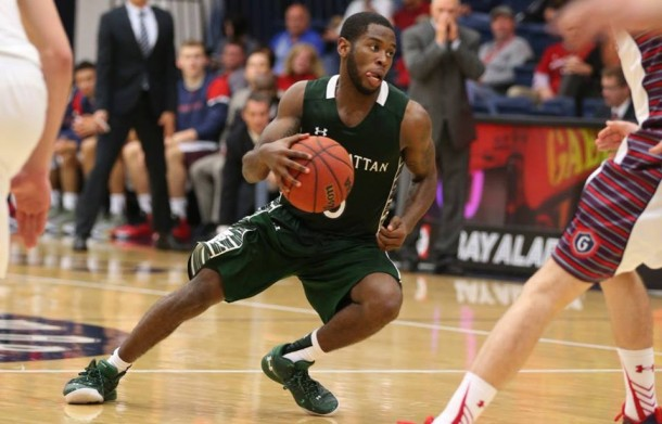Score Bucknell Bison 80-67 Manhattan Jaspers in College Basketball