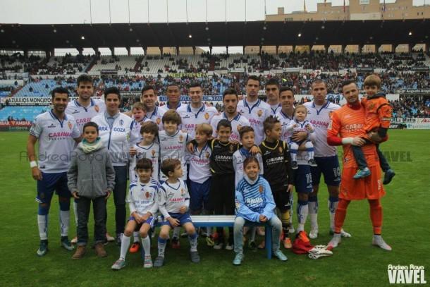 Real Zaragoza- Real Valladolid puntuaciones del Real Zaragoza, jornada 13