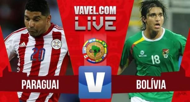 Jogo Paraguai x Bolívia nas Eliminatórias da Copa do Mundo (2-1)