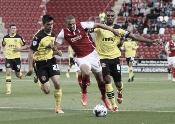 Bradford loan Jordan Bowery from Rotherham
