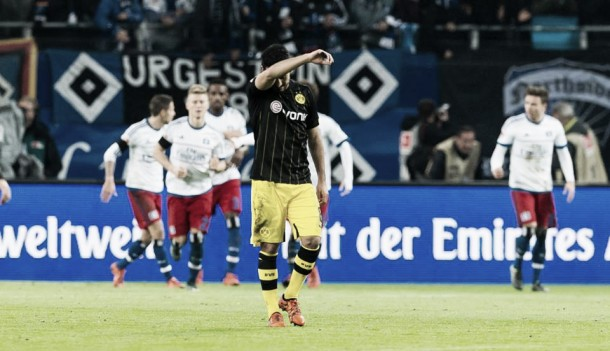 El Hamburgo se impone a un Borussia Dortmund sin rumbo
