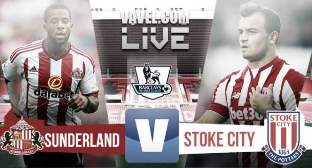 Sunderland vs Stoke City Live Stream Score Commentary in Premier League 2015 (1-0)
