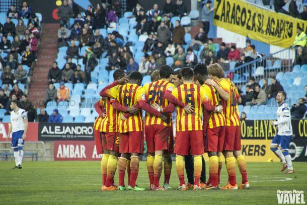 Zaragoza - Barça B: puntuaciones FC Barcelona B, jornada 24ª