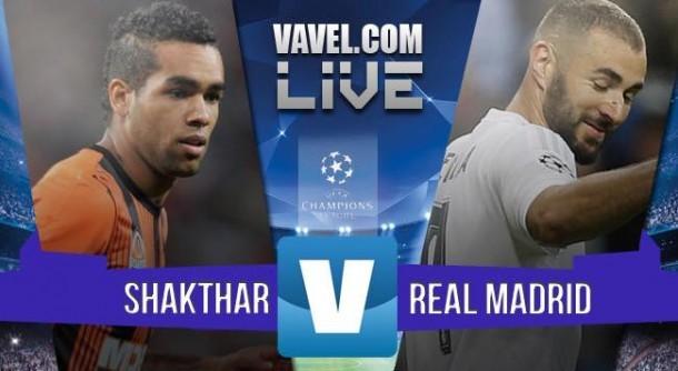 Live Shakhtar Donetsk – Real Madrid, risultato partita Champions League 2015/16 in diretta (1-0)
